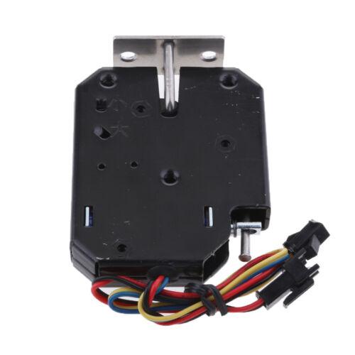 12V 2A Mini Electric Magnetic Strike Lock Door Access Control Cabinet Locks