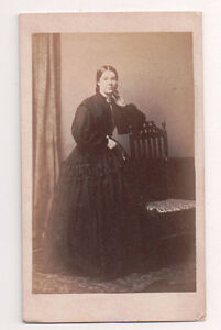 Vintage-CDV-Marcia-Gabb-Lewis-R-Biddle-Photo-Monmouth