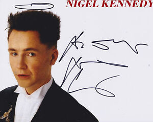 Nigel-Kennedy-HAND-SIGNED-8x10-Photo-Autograph-Violinist-The-Four-Seasons-B