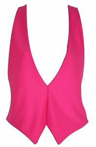The-Dragons-Den-Neon-Pink-Backless-Elasticated-Waistcoat