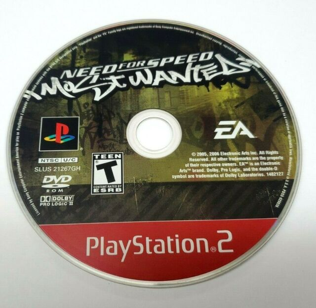 Need for Speed: Most Wanted (Sony PlayStation 2, 2005) CD Only Tested & Working