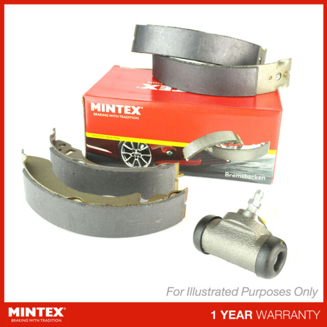 Matching OE Quality Mintex Rear Pro Brake Shoe Kit Includes Brake Cylinder