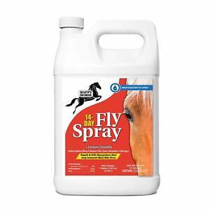 Harris Happy Horse 14 Day Fly Spray Sweat Weather Resistant Fly Spray Gal Ebay
