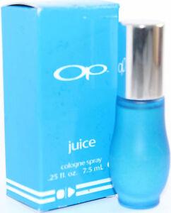 Ocean-Pacific-Op-Juice-mini-spray-0-25oz-7-5-ml-Men-039-s-Eau-de-Cologne-NIB