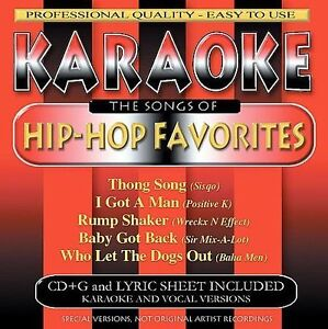 The Songs of Hip-Hop Favorites by Karaoke (CD, Jul-2001, BCI Music  (Brentwood Communication))