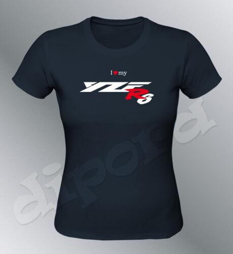 Tee shirt personnalise YZF R6  S M L XL femme moto
