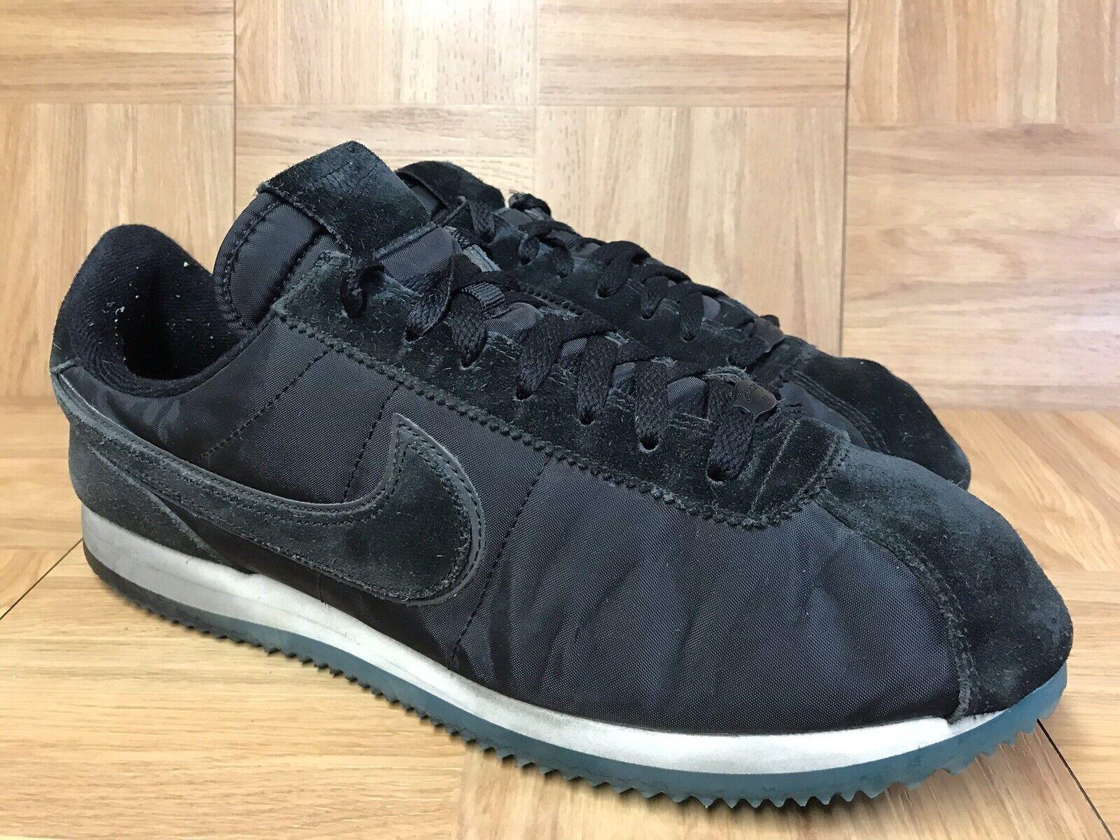 RARE Nike Cortez LHM Heritage Month QS Sz 12 Men's shoes Blk