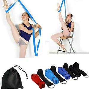 Leg-Stretcher-Door-Stretch-Band-Ballet-Yoga-Dance-Gymnastics-Training-Belt-US
