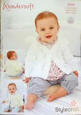 71d4fc737d89 Stylecraft Wondersoft 4ply Knitting Pattern - 4765 Baby Cardigans ...