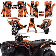 Graphic Kit Honda Foreman 500 ATV Quad Decals Stickers Wrap 2015 2016 REAP ORNGE