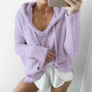 7colors-Women-Knitted-Pullover-Coat-Jacket-Outerwear-Fluffy-Warm-Loose-Sweater