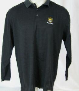 ef96d82a Tiger Woods long sleeve Black Drifit Golf shirt BEAR'S BEST XL | eBay