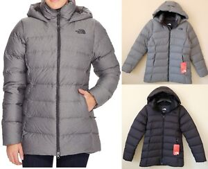 The North Face Women s Nuptse Ridge Hooded Down Parka 700 Fill Goose ... 36ab2f5e55