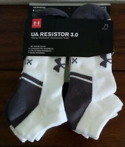 Under Armour Men/'s Resistor No-Show Socks 6 Pack