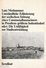 Communalbaumeisters - Lutz Niethammer
