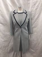 Albert Nipon Dress Suit/new With Tag/size 4/lined/retail$269/neiman Marcus Suit