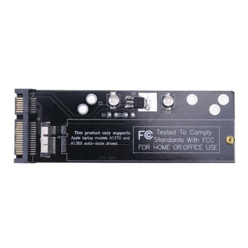 SSD to SATA Converter Adapter Card for 2010 2011 Apple MacBook Air A1370 A1369