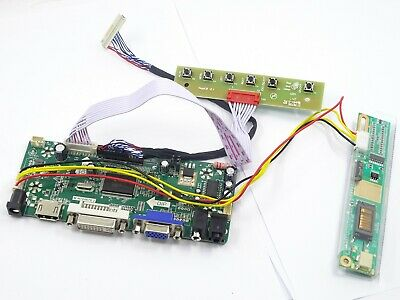 K5 Kit for LP171WX2 A4 HDMI+DVI+VGA+Audio LCD Driver Inverter controller Board