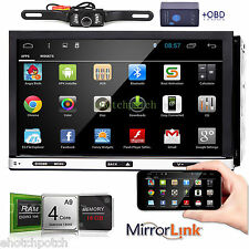 """Android 4.4 7"""" 2Din InDash Car DVD Radio Stereo Player WiFi 3G GPS+OBD2+CAMERA"""