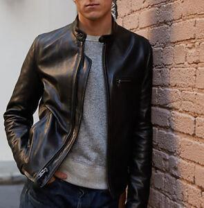 fe3a1bcd5 Mason & Cooper Cafe Racer Leather Jacket | eBay