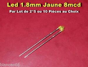 Diode Led Verte 5mm Diffusant PAR 5 ou 10
