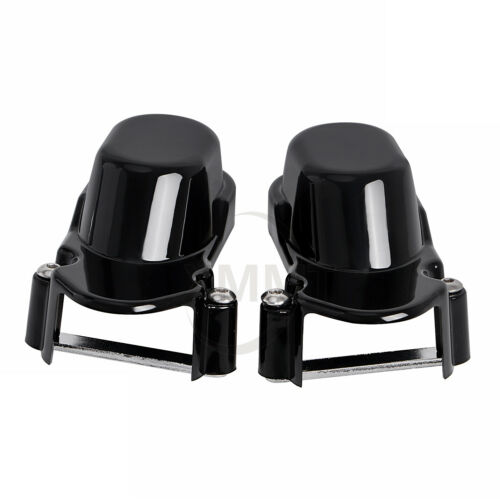 Motorcycle Plastic Black Rear Axle Nut Bolt Cover For Harley Sportster 1200 883