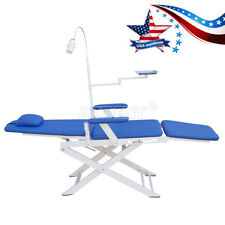 Dental Integral Unit Folding Chair Rechargeable Led Clinic Office Simple Type