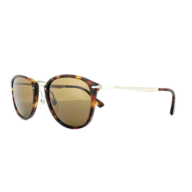 79de9c98a59 Persol Calligrapher Edition PO 3165s Havana crystal Brown Polarized ...