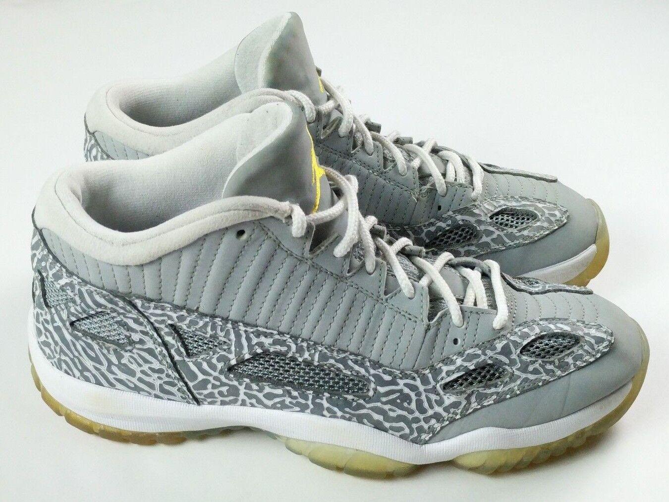 Nike air jordan 11 xi retro - tief bei ie ie ie schuhe in größe 10 silber lebensfreude 306008 072 d7bc92