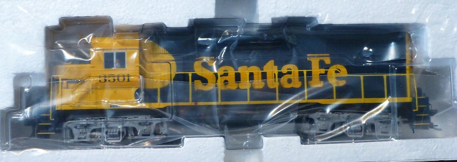 Atlas Ho   8961 Santa Fe Gp-38 Locomotora (Rd   3501) Decodificador Equipado