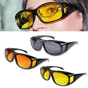 optique vision de nuit conduite anti blouissement hd lunettes uv vent ebay. Black Bedroom Furniture Sets. Home Design Ideas