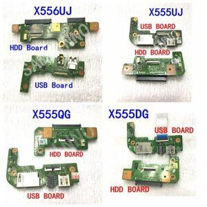 E-S-de-Audio-USB-SD-unidad-de-disco-duro-HDD-de-Board-Para-ASUS-X555DG-X555QG-X555UJ-X556UJ-X556UV