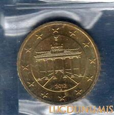 Allemagne 2012 50 centimes A Berlin FDC provenant coffret 40000 exemplaires