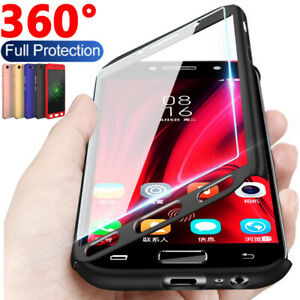 360-Full-Cover-Case-Tempered-Glass-For-Samsung-Galaxy-A3-A5-A6-A8-Plus-A7-A9