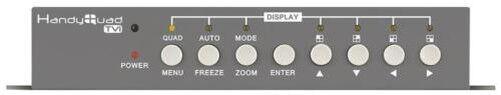 Cuadrada Conmutador HD - Handyquad CCTV QUAD050 Paquete 1