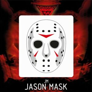 Image Is Loading Airbrush Stencil Template JASON MASK Jason Voorhees 4