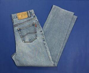 rob-roy-jeans-uomo-usato-vintage-w32-tg-46-denim-gamba-dritta-boyfriend-T3813