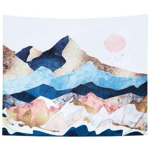 Mandala Tapestry Square Wall Hanging Decor Cover Carpet Yoga Mat Beach Towel