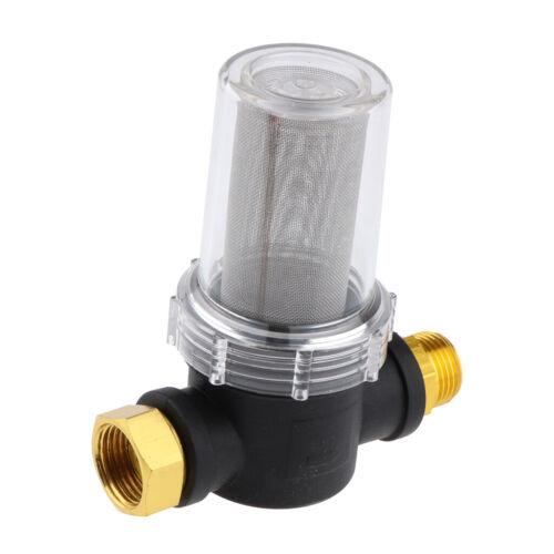 3//4 Gartenschlauch Netzfilter Armaturen  Hochdruckreiniger Pump Protector