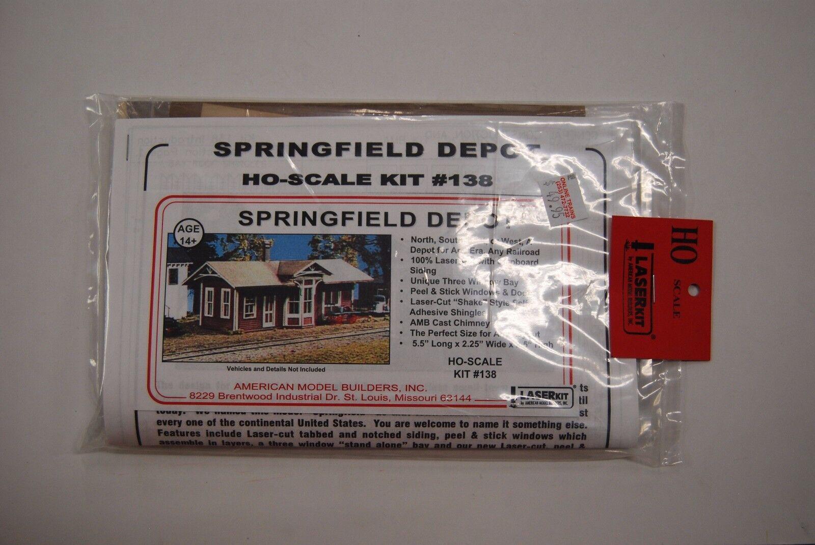 American modello Builders HO Laser Cut Kit 138  Springfield Depot