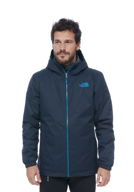 46c182373 The North Face Men's Quest Insulated Jacket Dryvent Urban Navy Size XLarge