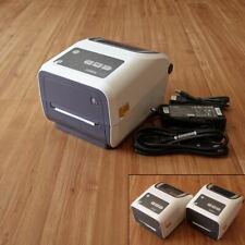 New Zebra Zd420 Direct Thermal Or Ribbon Cartridge Label Printer Usb Lan 300dpi