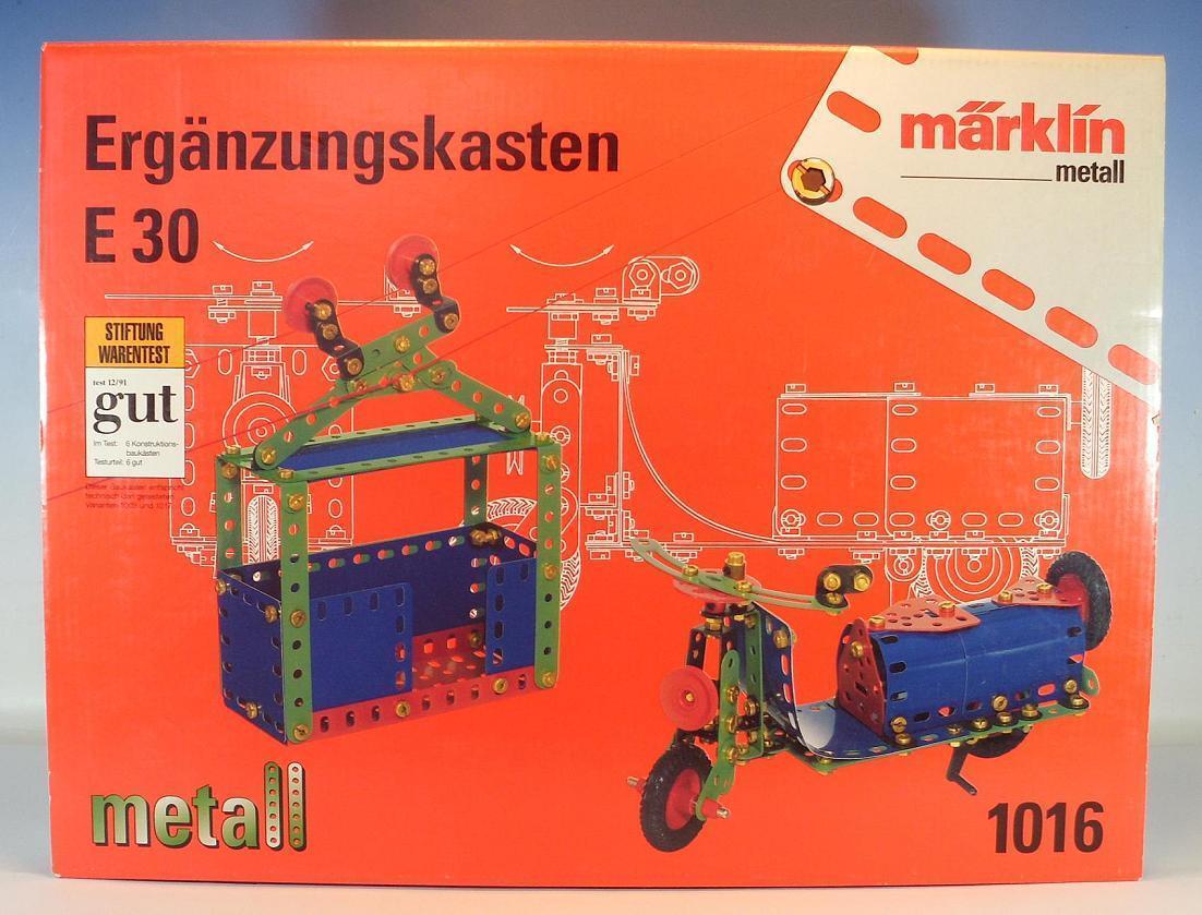 Märklin 1016 Metall Baukasten E 30 Ergänzungskasten OVP