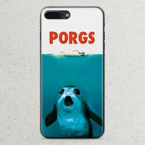 first rate 5c7ad d878e Details about Star Wars Porg Last Jedi Porgs Jaws Case iPhone Xr Xs Max X 8  7 6S 6 Plus se 5s