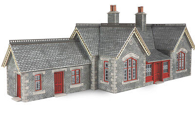 photograph relating to Free Printable Model Railway Buildings referred to as Settle/Carlisle Railway Station - OO/HO Card package Metcalfe PO333 - Cost-free Write-up F1 5060157223337 eBay