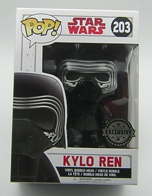 Star Wars Pop Vinyl 203 Kylo Ren Masked Exclusive
