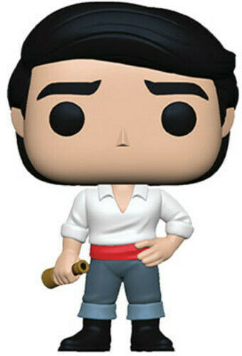 Little Mermaid - Prince Eric - Funko Pop! Disney: (Toy New)