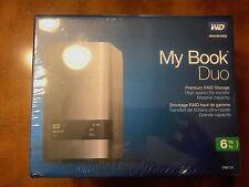WD 6TB My Book Duo Desktop RAID External Hard Drive - USB 3.0 - WDBLWE0060JCH