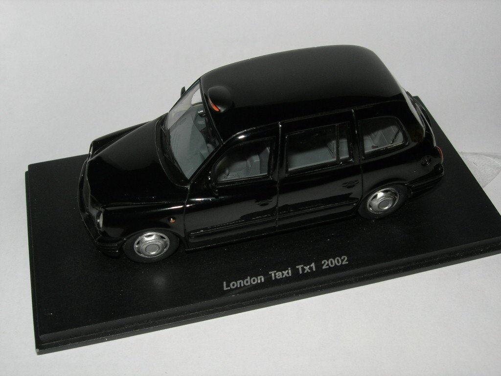 Spark Model 1 43 S0279 London Taxi Tx1 2002 NEW