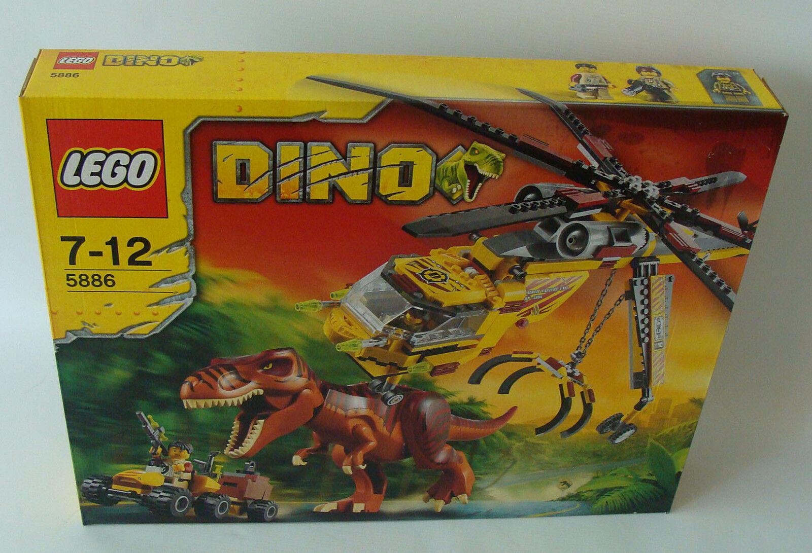 LEGO ® Dino 5886-T-Rex Transport Hélicoptère 480 pièces 7-12 ans-NEUF